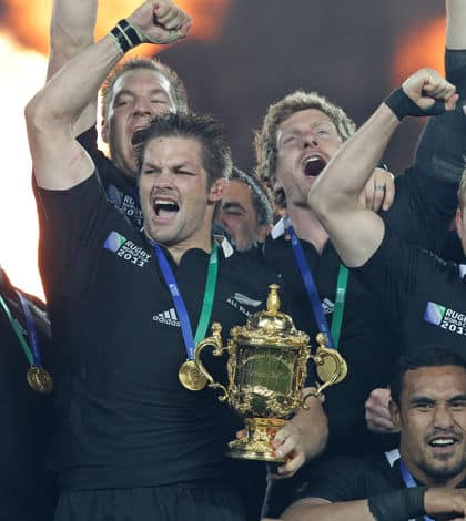 The Rugby World Cup has started…game on!