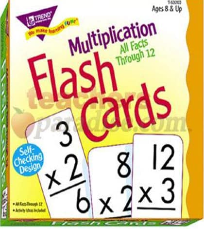 6×8 is the hardest multiplication to learn