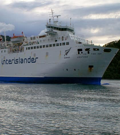 Trains on Cook Strait Ferry finishing?