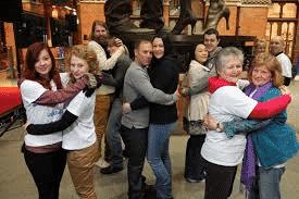 World's Longest Hug