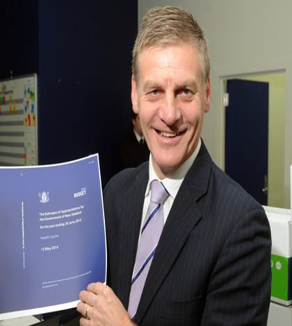 Bill English delivers budget