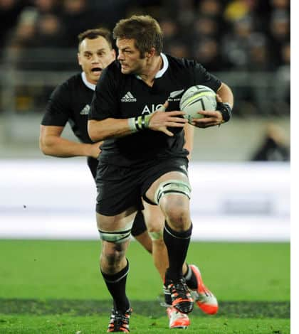 McCaw captains All Blacks for 100th time