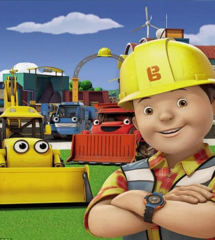 Bob the builder gets make over
