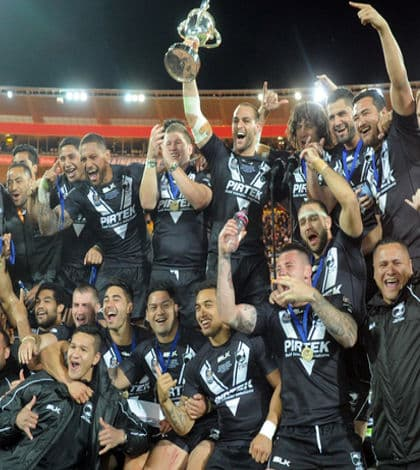 Kiwis win Four Nations