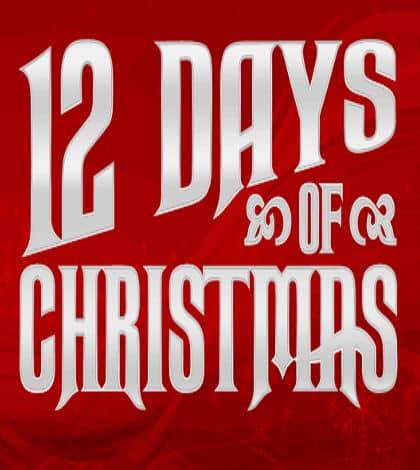 Twelve Kiwi Food Days of Christmas