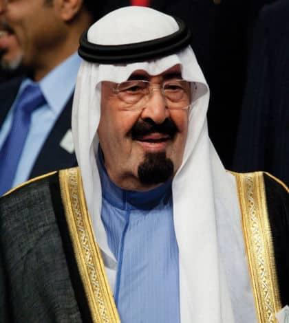 King of Saudi Arabia dies