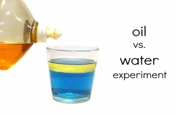 Do water and oil mix?