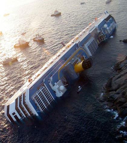Costa Concordia Captain Sentenced to 16 Years in Prison
