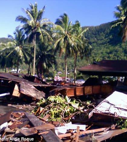 Earthquakes hit Samoa