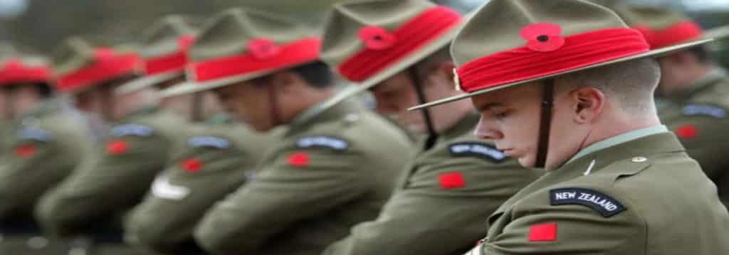 The ANZAC ceremony