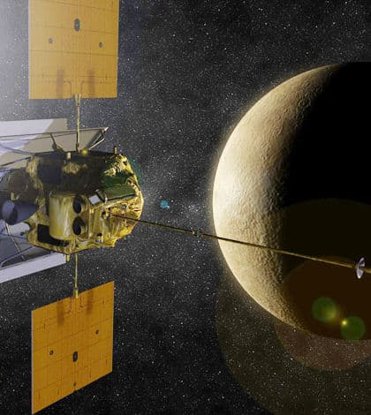Spacecraft smashes into Mercury