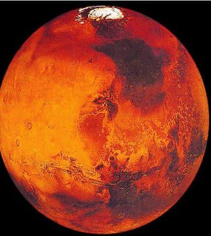 Robot lands on Mars