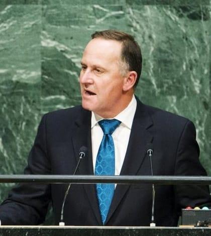 John Key tells United Nations to 'Step Up'