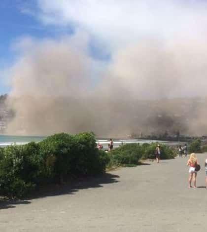 Strong earthquake hits Christchurch