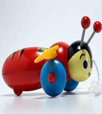Buzzy Bee toy a choking hazard