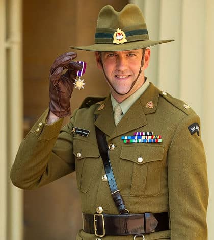 Bravery award to New Zealand soldier