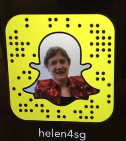 Helen Clark joins snapchat