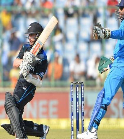 Black Caps win against India