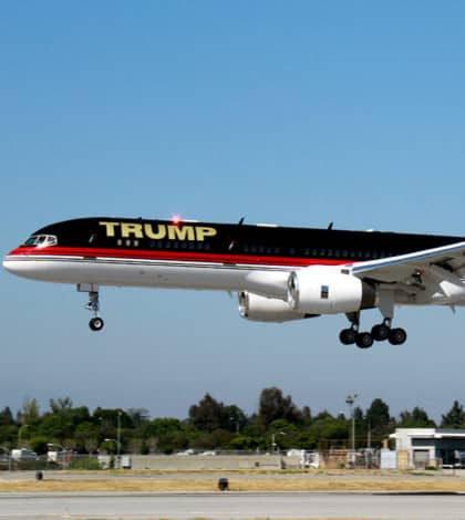 Trumps snubs Air Force One