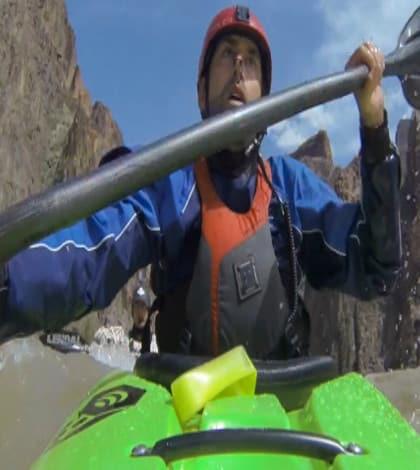 Blind man kayaks through Grand Canyon