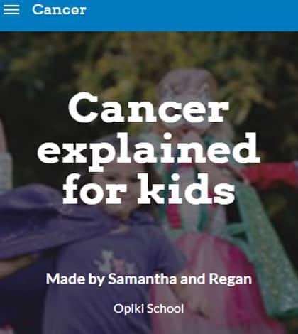 Cancer information website created