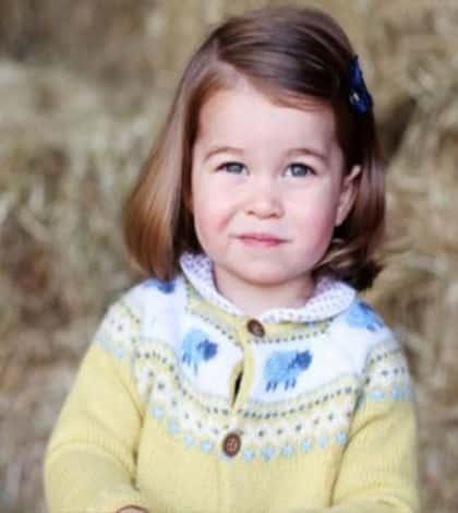 Princess Charlotte turns two