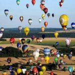 Hot air balloons break record