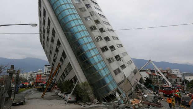 Earthquake hits Taiwan