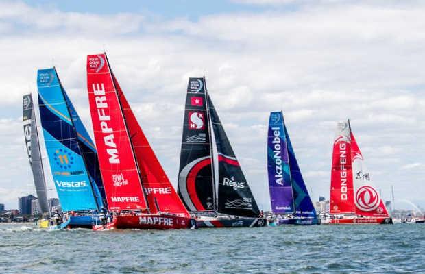 Volvo Ocean Race sails into Auckland