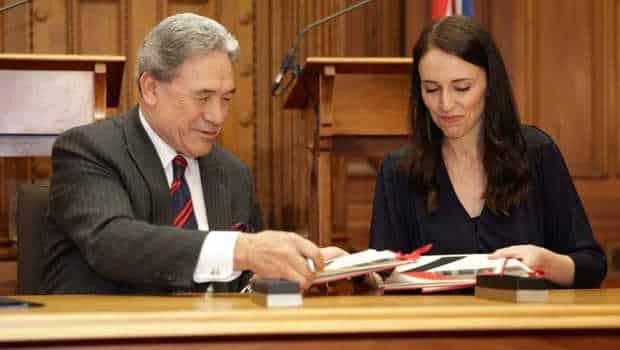 Jacinda Ardern writes Winston Peters letter of expectations