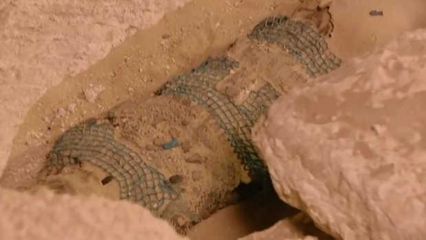 2500 year old mummy found in Egypt